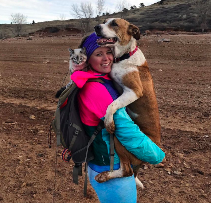 People Are Falling In Love With Photos Of This Outdoorsy Dog And His Cat BFF