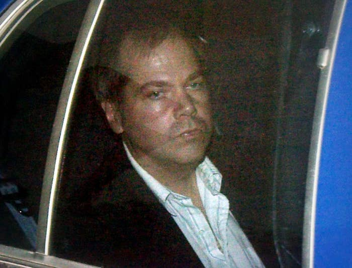 John Hinckley Jr. arrives at the federal courthouse in Washington, DC, in 2003.