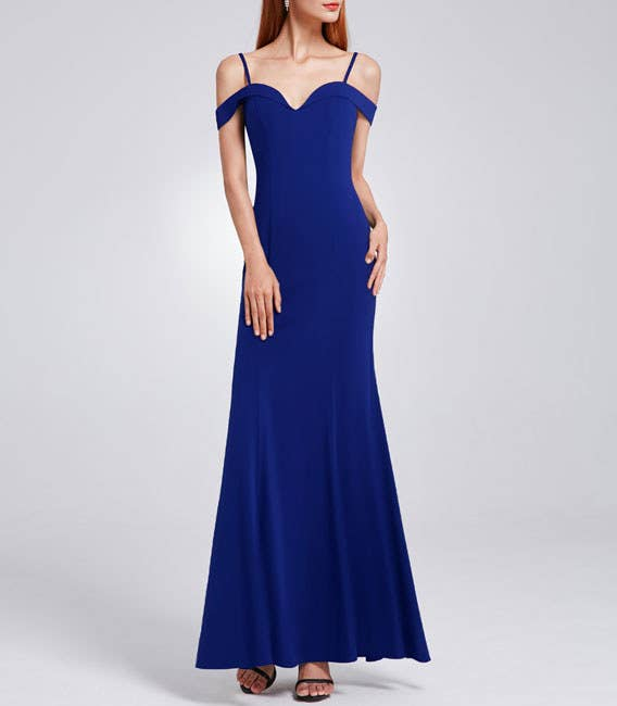 """Promising review: """"This dress is so cute on! The quality is just as good as dresses I've bought at department stores."""" —CatwmPrice: $39.99 (available in sizes 4–16 and five colors)"""