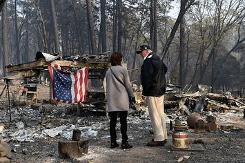 Updates: California Wildfires Have Now Killed 79 And Left More Than 1,200 Missing