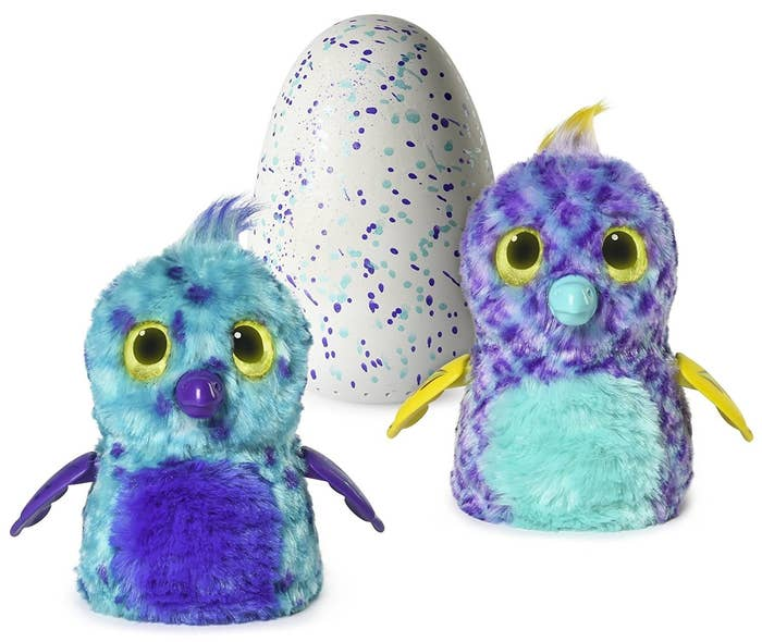 19 A Super Popular Hatchimal Whose Shell Cracks To Reveal An Animated Furry Friend