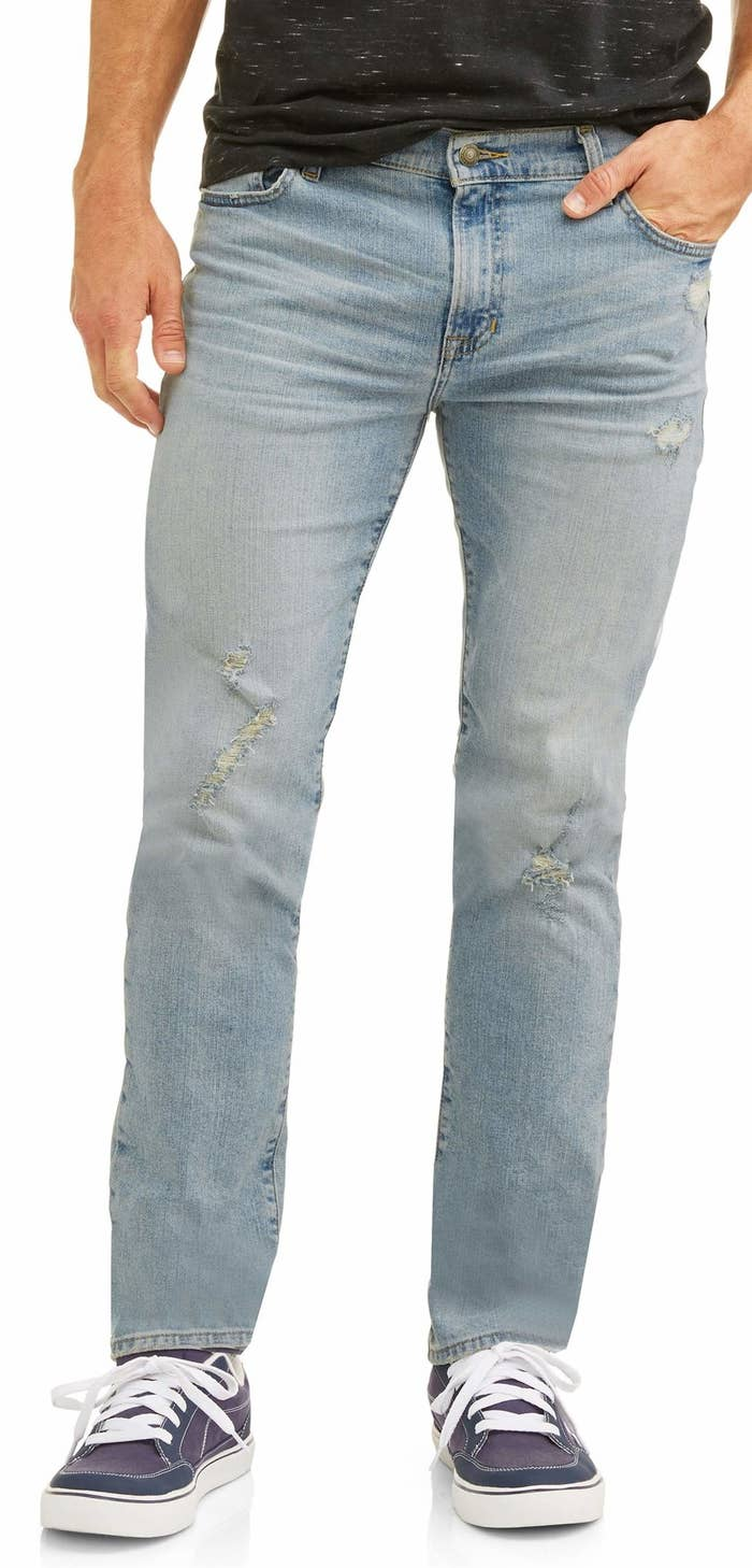 1aee5f7f022 Men's skinny fit jeans for a versatile modern look to wear on casual date  or out with friends. Walmart