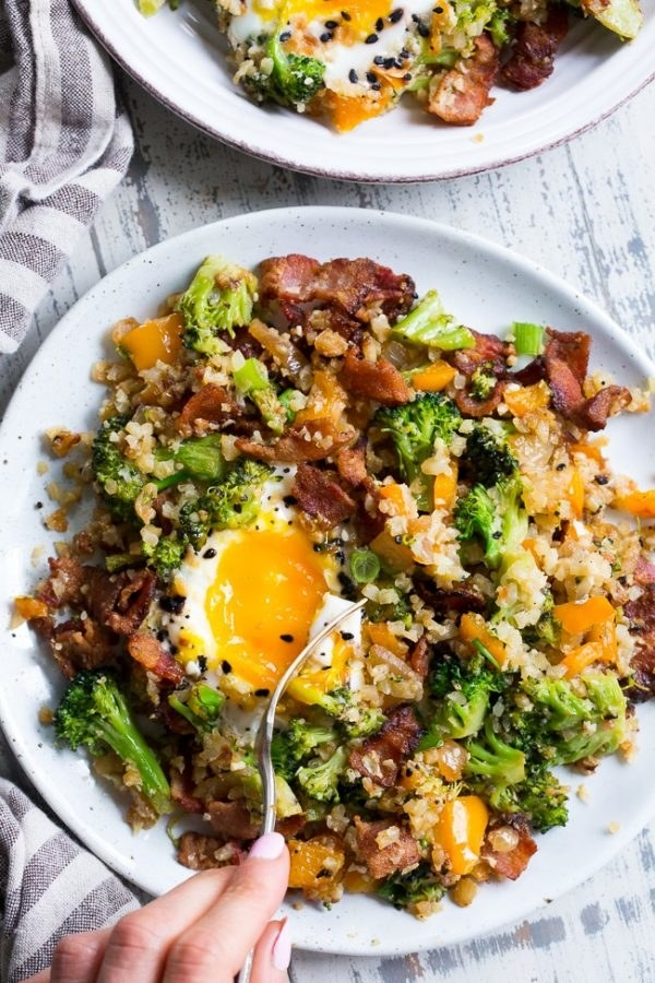 If there's bacon and egg then it counts as lunch, right? Get the recipe.