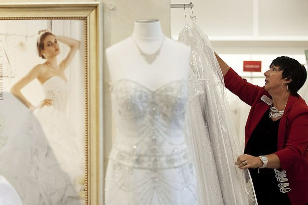 David's Bridal Filed For Bankruptcy, But It's Not Disappearing Yet
