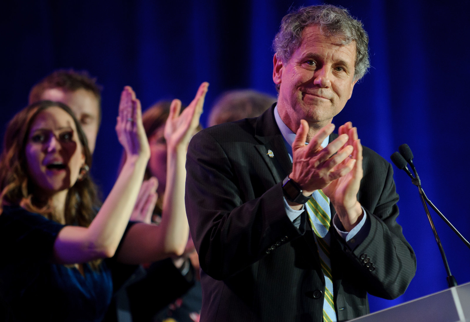 Sherrod Brown Wants Democrats To Have A Pro-Worker Message In 2020. He's Not Sure Anyone Can Deliver It Better Than He Can.