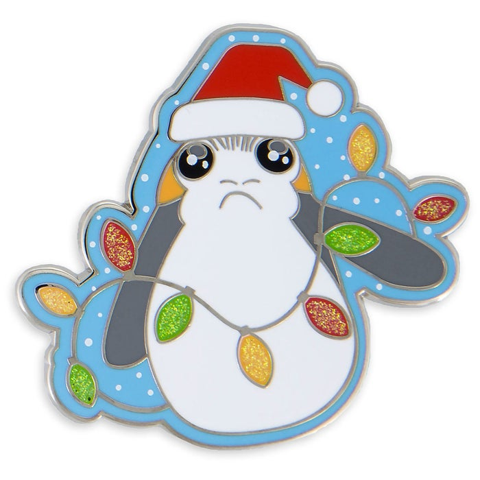 Porgs are the cutest thing to EVER come out of the Star Wars universe. There. I said it. This enamel pin will make anyone's season brighter. TBH I'd wear this all year round.Get it from ShopDisney for $9.99.