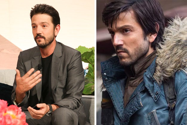 "This Is How Diego Luna Reacted When He Got His Role In ""Star Wars: Rogue One"""