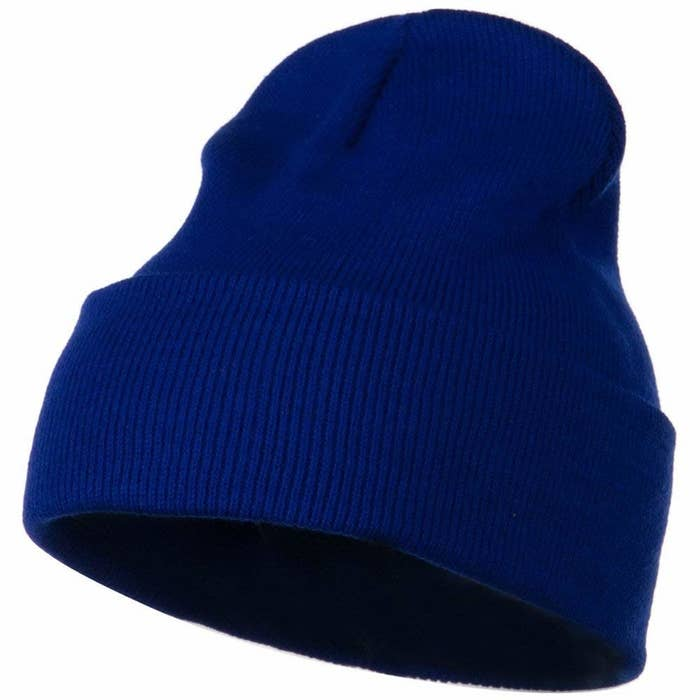 69b73aa6b3c A cozy and totally practical knitted beanie you damn well know all the cool  kids are wearing.