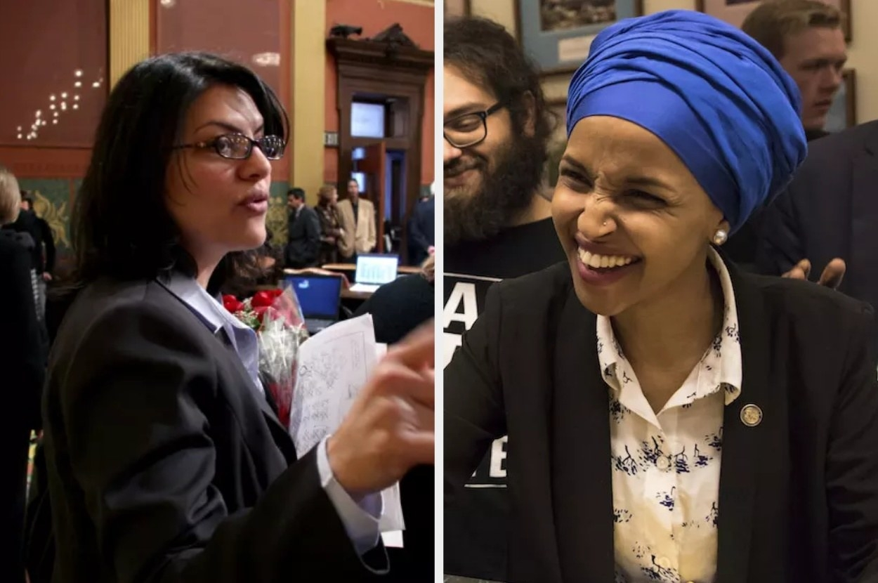 Rashida Tlaib And Ilhan Omar Are The First Muslim Women Elected To Congress