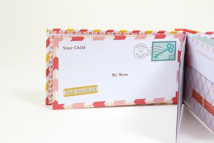 Includes 12 fold-and-mail-style envelopes (10 prompted, 2 blank).Get them from Amazon for $6.45.