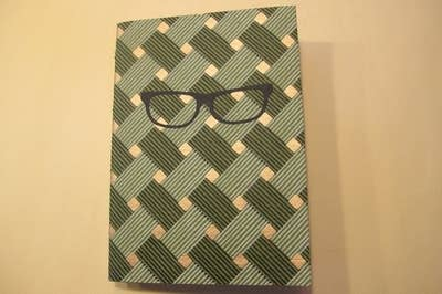 eb535d8311 An handmade eyeglasses journal — it ll be great for writers who just love  writing — and their glasses