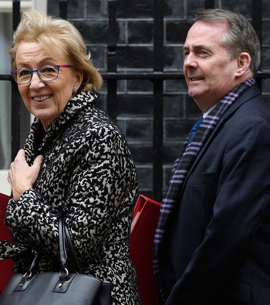 Andrea Leadsom and Liam Fox.