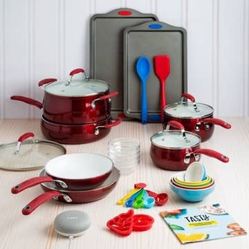 It S The Happiest Thanksgiving Ever Because You Can Now Get A Full Tasty Cookware Set Plus A Google Home Mini For Under 100
