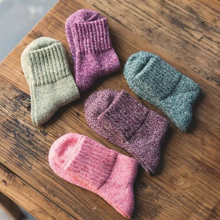 f0d5c3bedd64 A set of wooly crew socks because you can never, and I mean NEVER, have  enough warm socks.