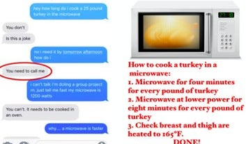 Don't Ask Your Mom How To Microwave A Turkey, Just Read What The Experts Say