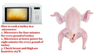 How To Actually Cook A Turkey In The Microwave, If You Really Want To