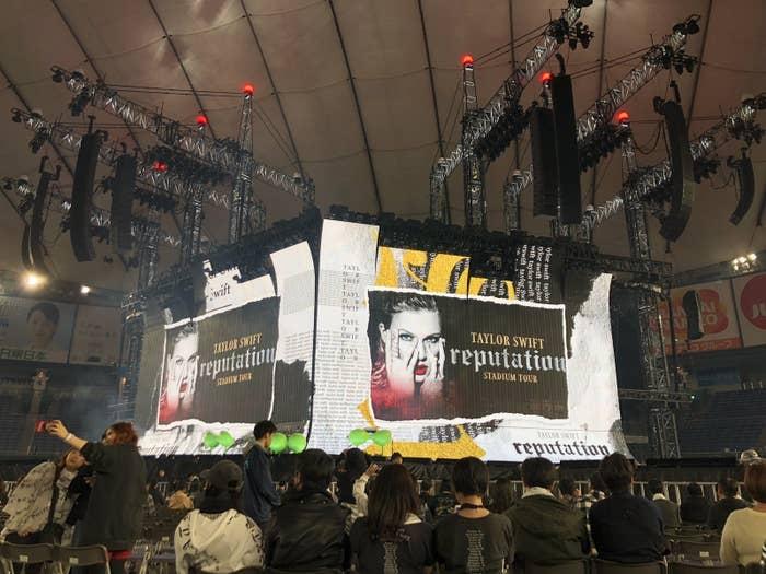 11月20日、東京ドームで開催された『TAYLOR SWIFT reputation STADIUM TOUR in Japan presented by FUJIFILM instax』。
