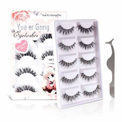 fdb6b6eb75e False lashes that aren't super dramatic, so these are perfect for peeps who  prefer that au naturale look that isn't completely