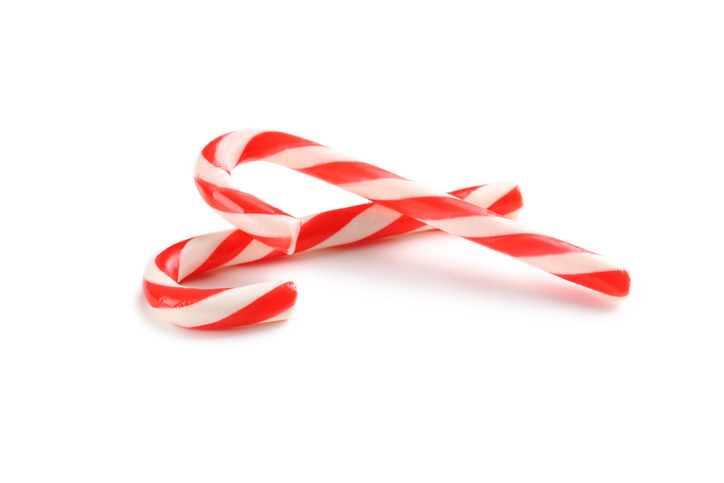 Candy Canes -  These are for aesthetics only.