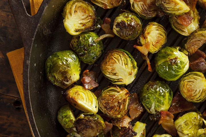 Brussels Sprouts -  Brussels sprouts are one of the best veggies, hand down. There's a reason they are the go-to veggie for holiday dinners, and I stand by my decision to rank them so high.
