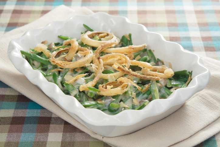 Green Bean Casserole -  People can talk smack all they want about green bean casseroles, but I think they are great. It's like eating your veggies without being super healthy, which means it tastes good, which means it deserves to be number eight on this list.