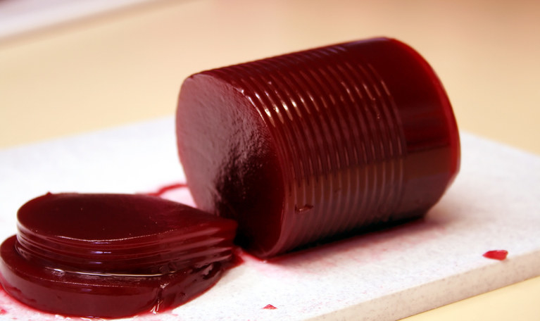 Canned Cranberry Sauce -  I'm still not sure if people  actually  like canned cranberry sauce, or if it's just a nostalgia thing. Does anybody really look forward to eating it?