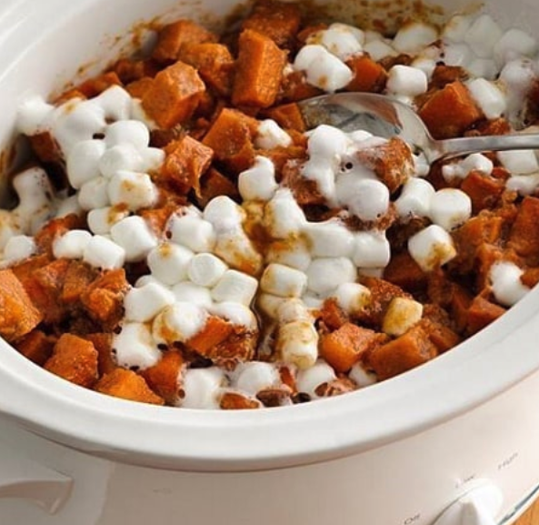 Ummmmm, marshmallow and sweet potato? Are you sure?