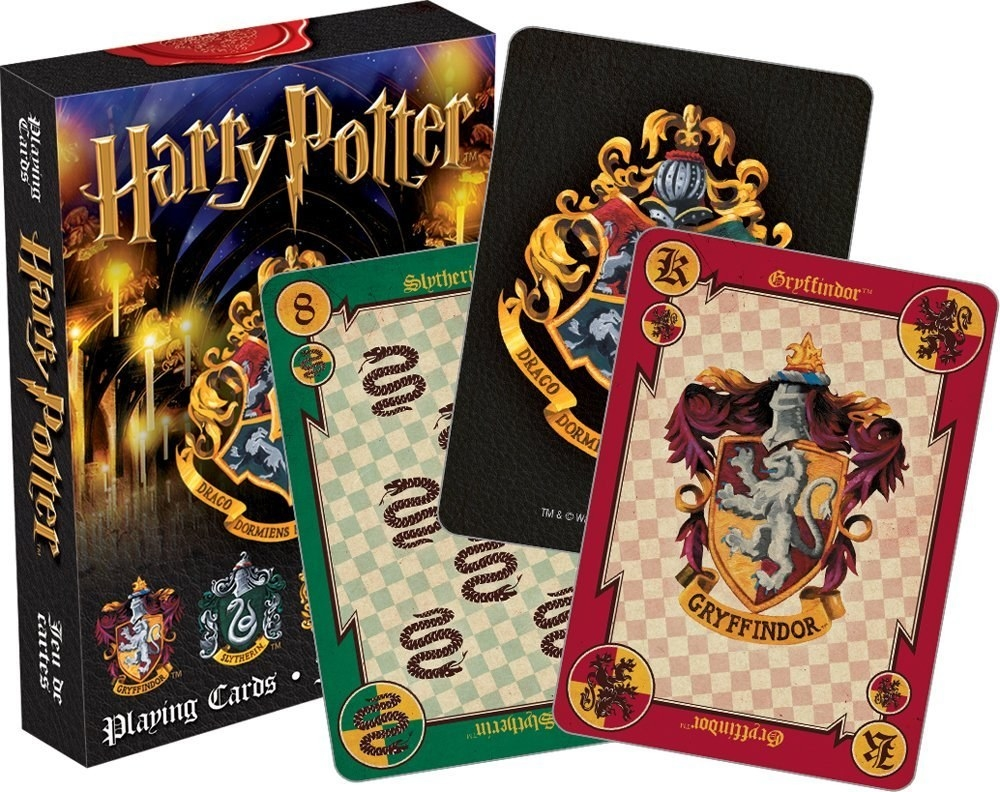 Harry Potter deck of cards
