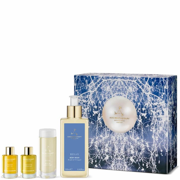 I especially love the Revive Morning Oil. This set is XX, down from £39. on Amazon.