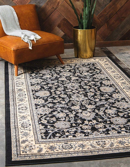 """Promising review: """"This rug is gorgeous. It is a quality rug and true to size with vibrant colors. With the free shipping and the variety of colors and sizes, I don't think I will ever trudge through stores looking for rugs again. I have found my rug place. I would buy it again and have recommended Unique Loom to my friends and family."""" —G Jensen Price: $25.41+ (available in 13 sizes and 13 colors)"""