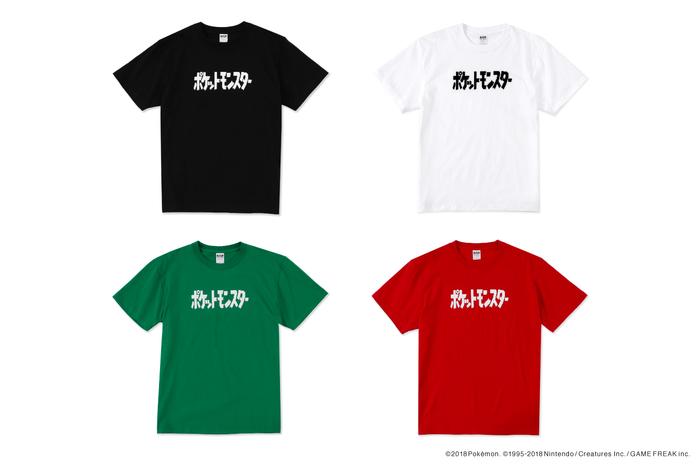"""商品名は「""""ポケットモンスター"""" Logo Tshirt」。価格は3240円です。カラーはブラック、ホワイト、レッド、グリーン。サイズ展開はS/M/L/XL/XXLです。"""