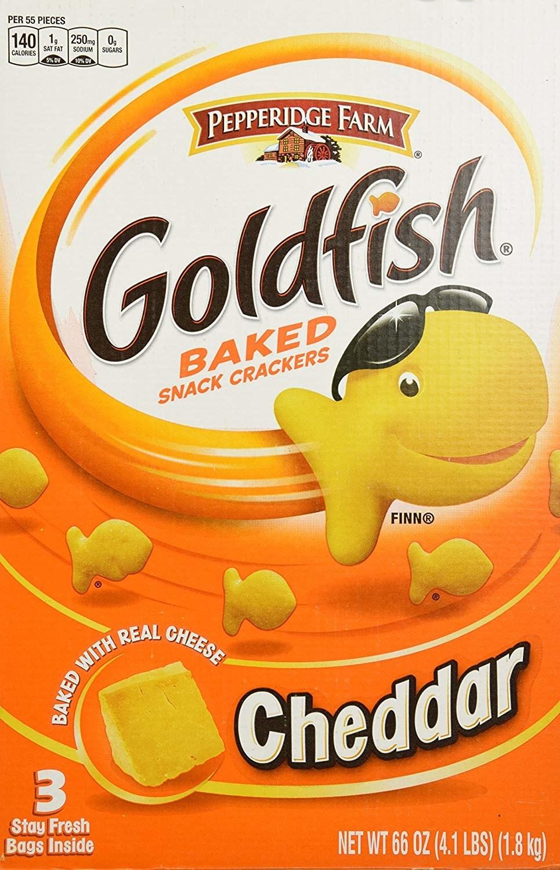 The box of goldfish