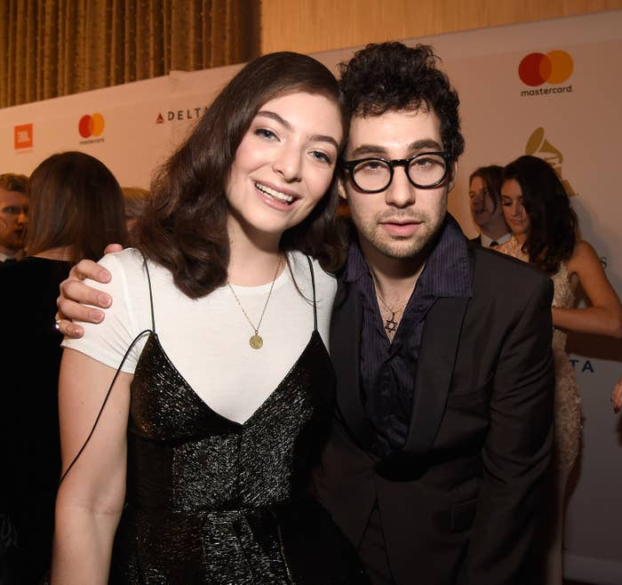 Jack Antonoff co-produced Lorde's second studio album Melodrama.