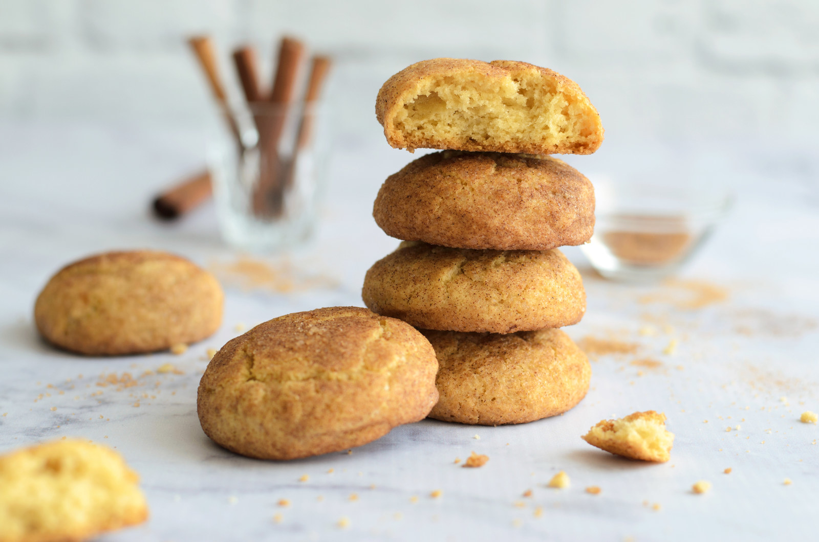 "What is it: Cinnamon sugar cookies.""I live in the US, so chocolate chip cookies are an obvious choice. But, I actually really like and prefer Snickerdoodles!""—Betherick85Get the recipe."