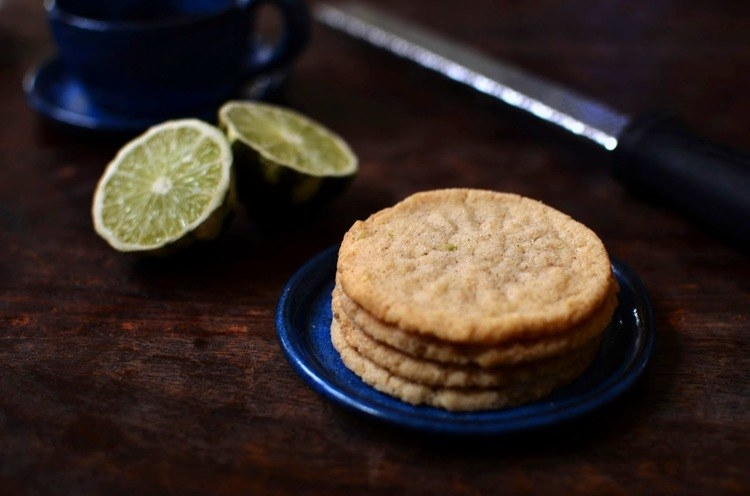 What is it: Thin, lime-flavored butter cookie.Get the recipe.