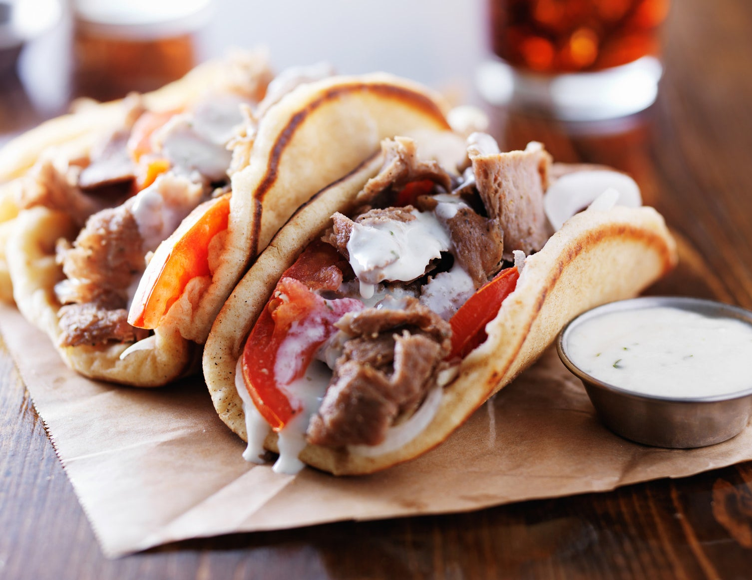 Most popular order: Shawarma
