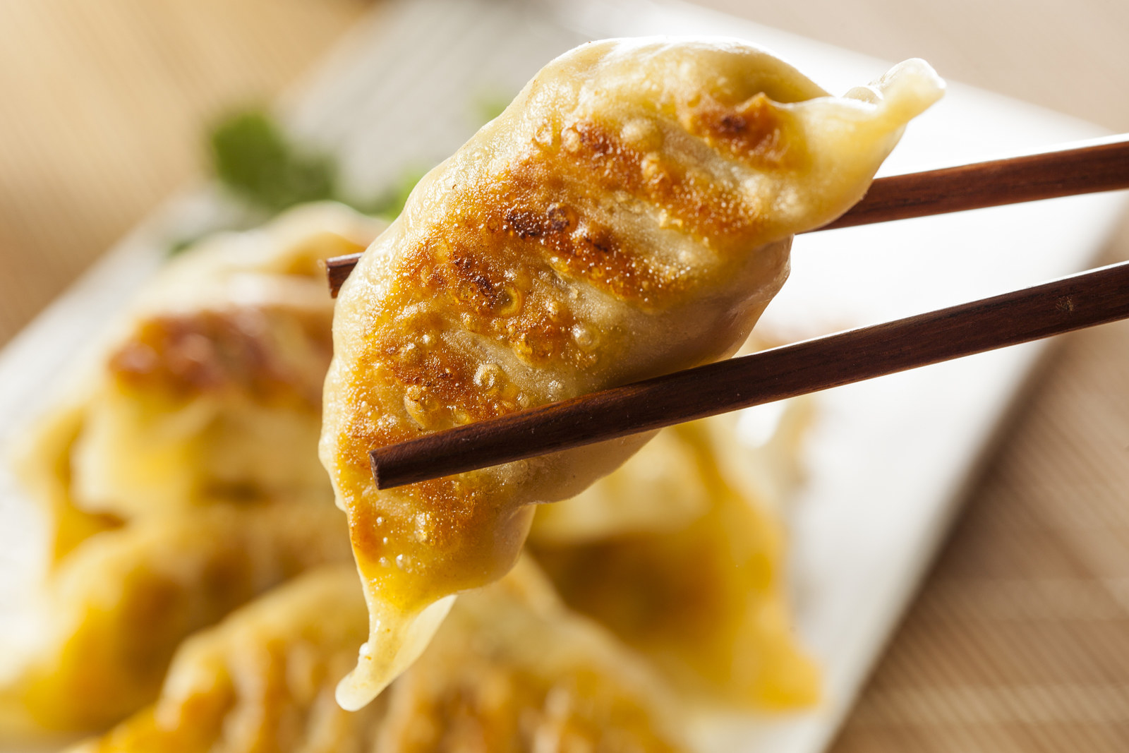 Most popular order: Potstickers