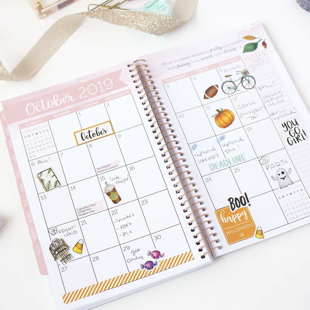 photograph relating to Cute Weekly Planners identified as 21 Of The Most straightforward Planners For 2019