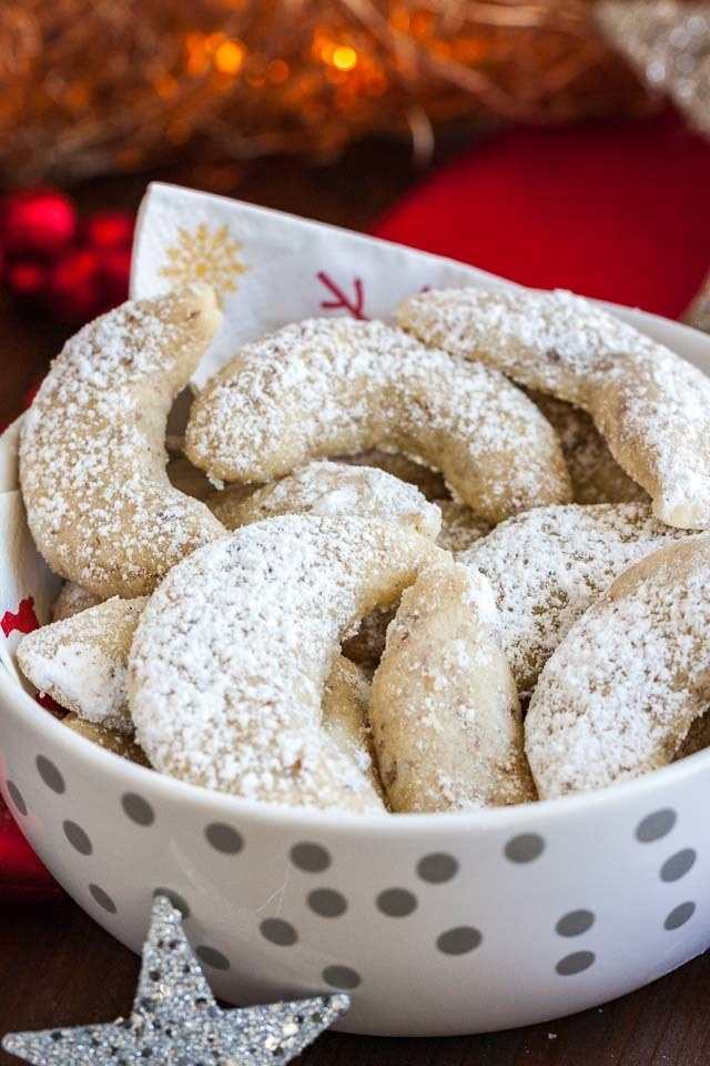 "What is it: Crispy, nutty, crescent-shaped biscuits; these are popular all over Austria, Germany, the Czech Republic, Poland, Slovakia and Hungary.""We make them during Christmas season and eat them like crazy!""—parksandwrecked"
