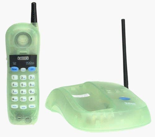 Sure, you might have had or wanted a cell phone, but they had shit reception and had expensive minute plans. A landline was still goals!!!