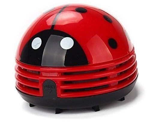 small vacuum that looks like a ladybug