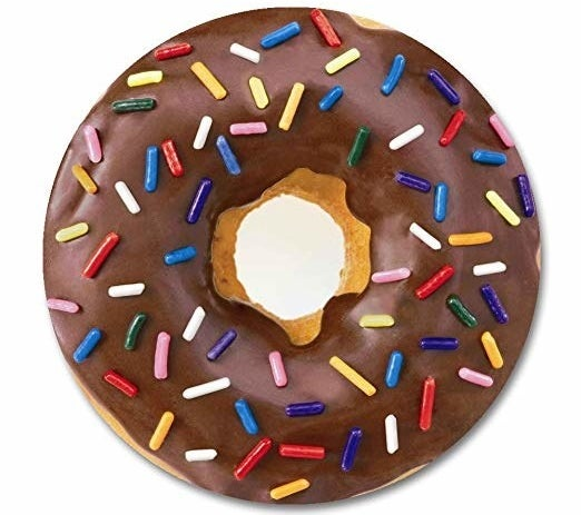 donut-shaped mouse pad