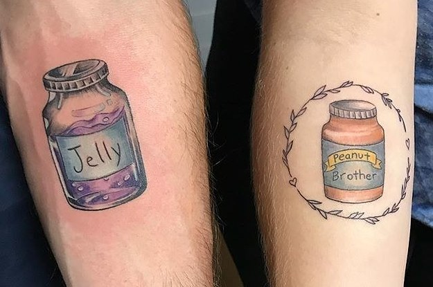 33 Aww Worthy Sibling Tattoos That Parents Cant Even Be Mad