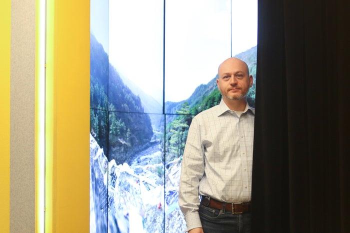Scott Spencer in Google's New York City offices on Nov. 26.