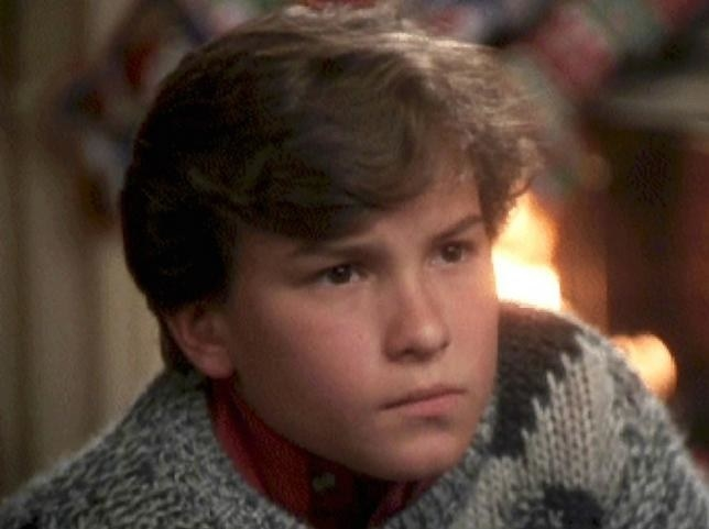 Johnny Galecki as Rusty in  National Lampoon's Christmas Vacation : - Fun fact:  Only two Christmas movies came out in 1989 and Johnny Galecki was in both of them ( Prancer  and  Christmas Vacation ).