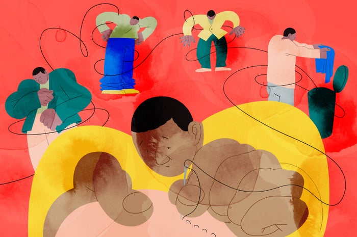 Alva Skog, a 2018 graduate of Central Saint Martins in London, did this illustration for Cassie Smyth's piece Sewing Is A Life Skill That So Many People Are Missing — Here's Why You Need To Learn.
