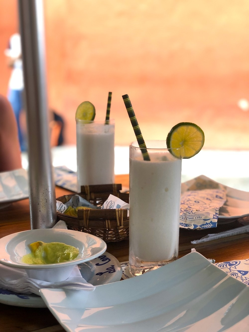 Limonada de Coco, aka the best drink on Earth.