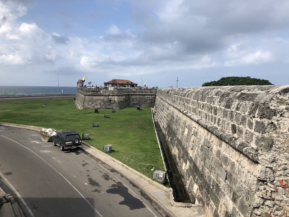 Cartagena's Old Town as known as the Walled City, which was the main port for trade between Spain and its overseas empire.