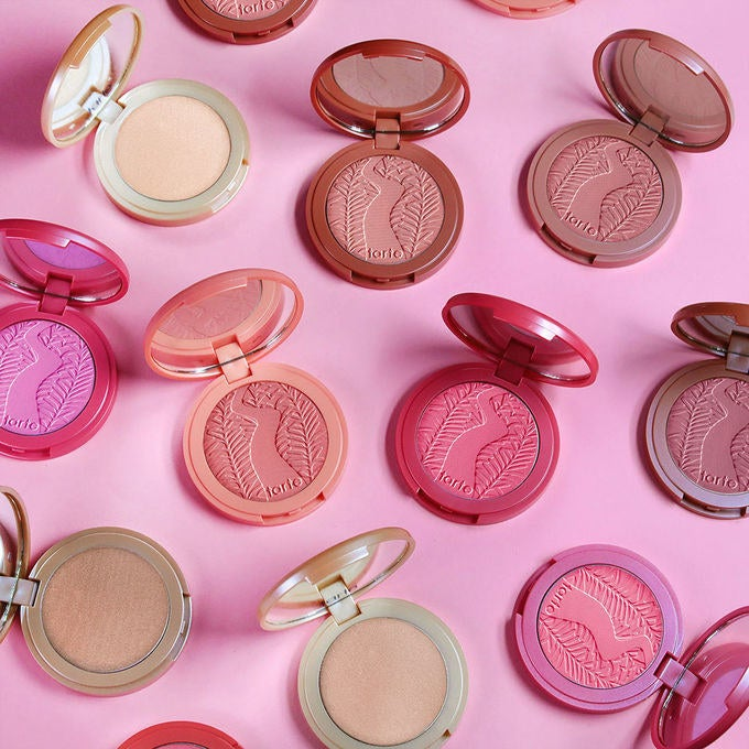 """Promising review: """"These are the most long-lasting pigmented blushes I've ever tried! They're very buildable which I love and they blend out like a dream!"""" —MeganGet it from Tarte for $29 (available in 10 shades)."""