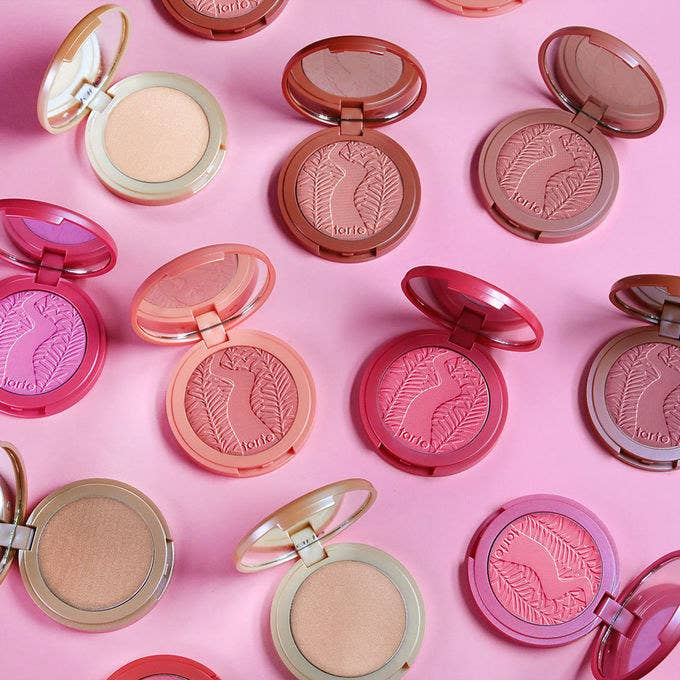 "Promising review: ""These are the most long-lasting pigmented blushes I've ever tried! They're very buildable which I love and they blend out like a dream!"" —MeganGet it from Tarte for $29 (available in 10 shades)."